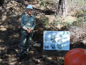 Tom Walker, Tumalo Falls   Restoration Project